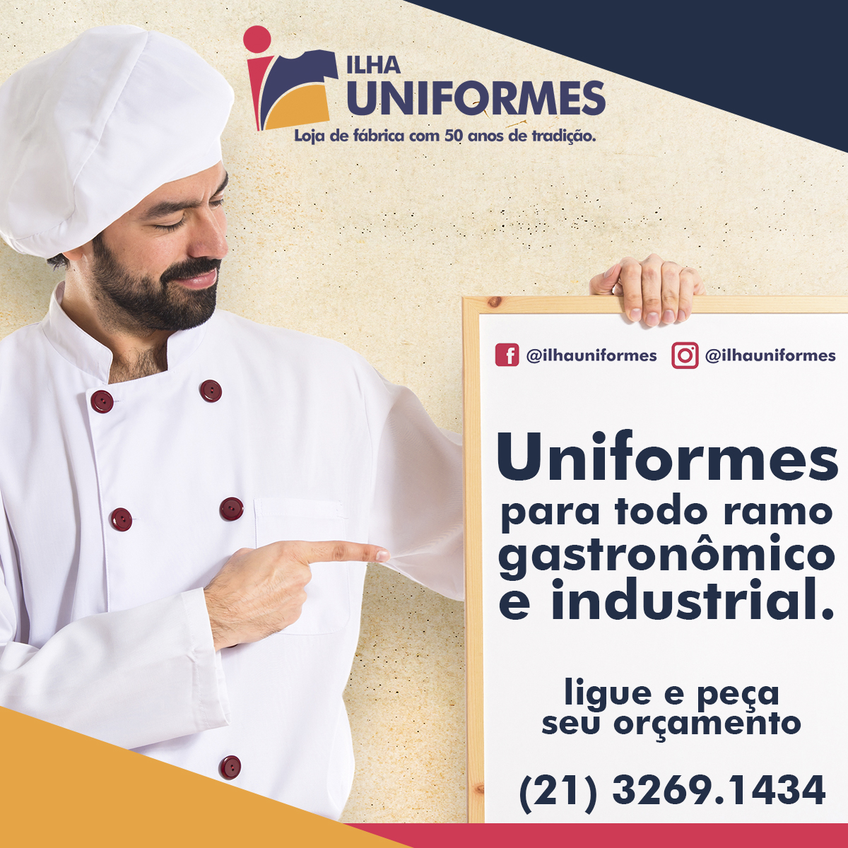 Facebook post Ilha Uniformes- 10-08